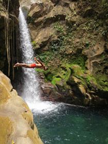 Oropendola Waterfall - Rincon de la Vieja Volcano National Park Tours - Native's Way Costa Rica Tours and Transfers